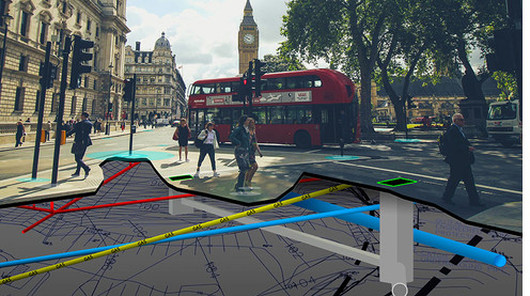 3D underground assets of Westminster London