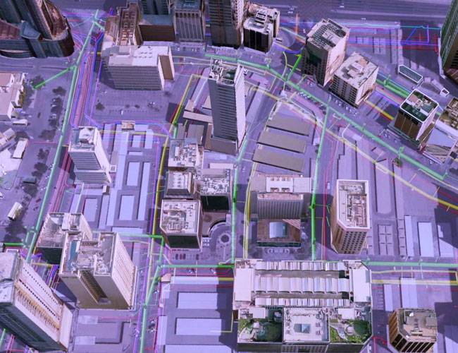 One of Ordnance Survey International's projects involved a 3D data model for Bahrain